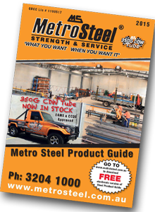 Metro Steel Product Guide