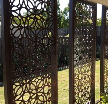 metal privacy screens